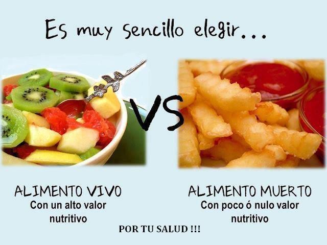 Mensajes Saludables y Nutrientes que Cambiaran Tu Vida - Alimentacion Saludable vs Chatarra  Cual eliges?.  http://www.angiexitosa.co.cc  http://www.facebook.com/suvueltaencolombia