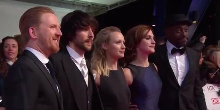 Colin Morgan at the NTA awards 2016