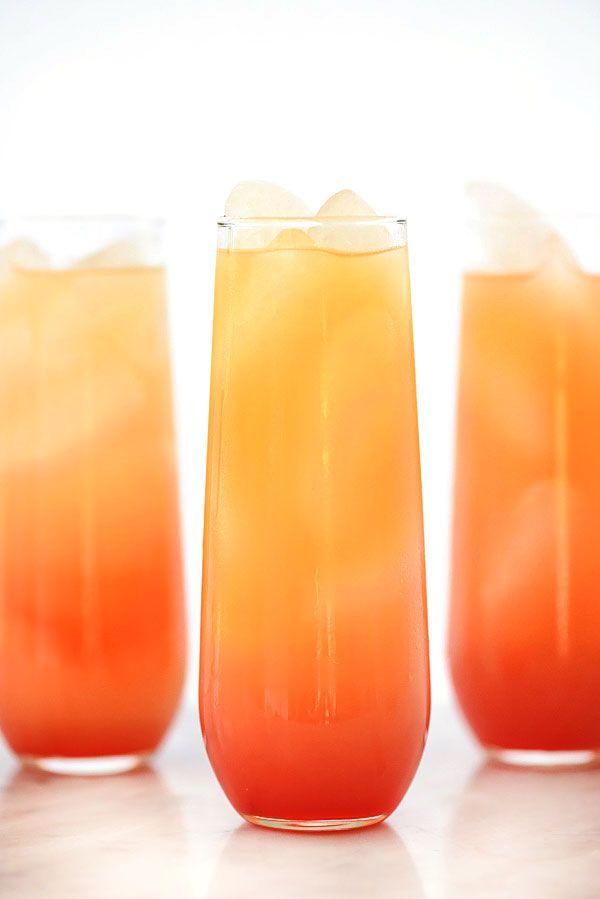 Tequila Sunrise Cocktail | foodiecrush.com