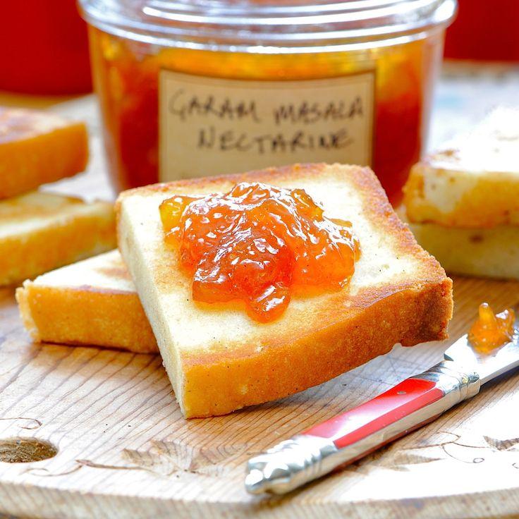 JULES FOOD...: Garam Masala Nectarine Jam