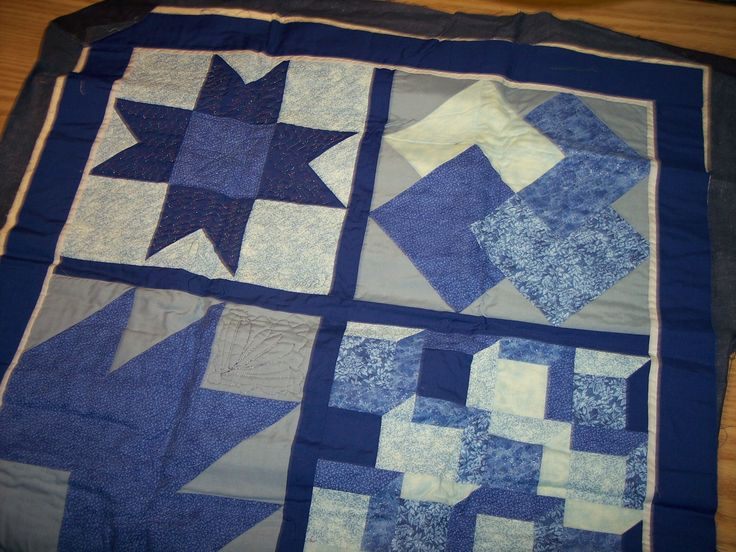 I made this sampler quilt to practice quilting techniques on the weekend retreat.