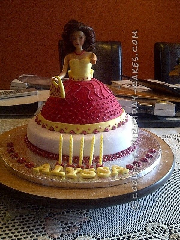 Coolest Doll Birthday Cake For My 5 Year Old Princess
