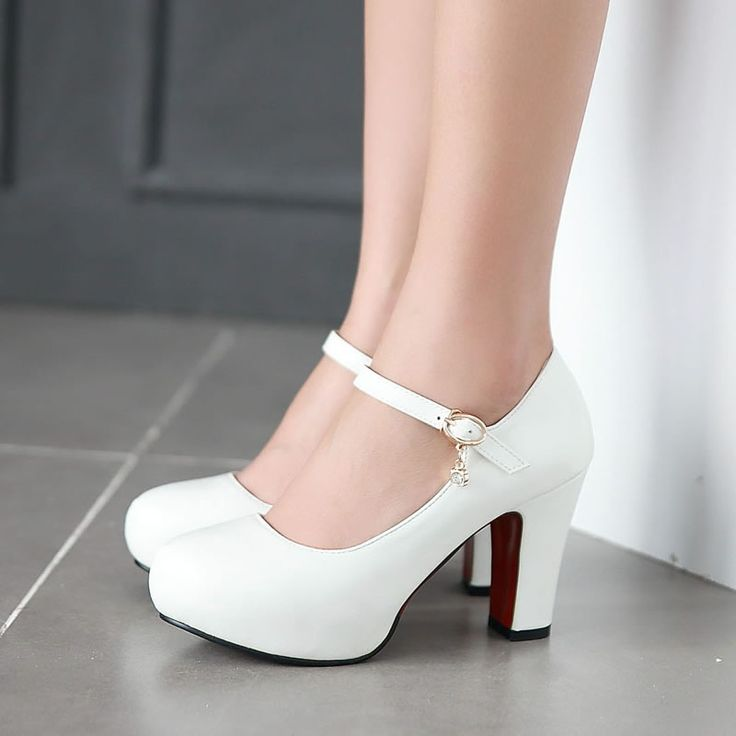 Best 25  White high heels ideas on Pinterest | Prom shoes, High ...