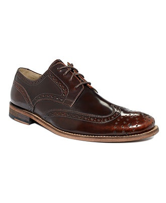 Hush Puppies Shoes, Bozeman Wing Tip Lace Up Shoes - Mens Lace-Ups & Oxfords - Macy's