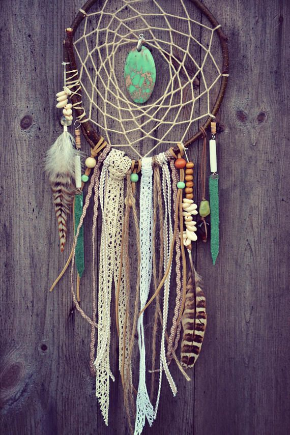 Dreamcatcher Ethnic Wood Tribal Native Hippie Gips…