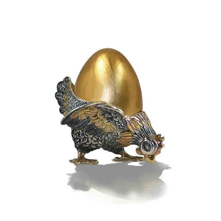 Купить Столовый прибор для завтрака: подставка для яйца Курочка Ряба