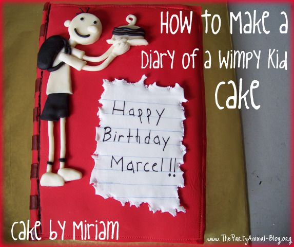 46 best diary of a wimpy kid images on pinterest diary of how to make a diary of a wimpy kid cake solutioingenieria Choice Image
