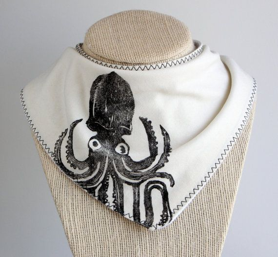 Hey, I found this really awesome Etsy listing at https://www.etsy.com/listing/277712818/squid-babytoddler-bandana-drool-bib