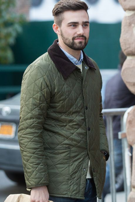 Street Style: Quilted Jackets—Not Just for Grandpas: The Daily Details: Blog