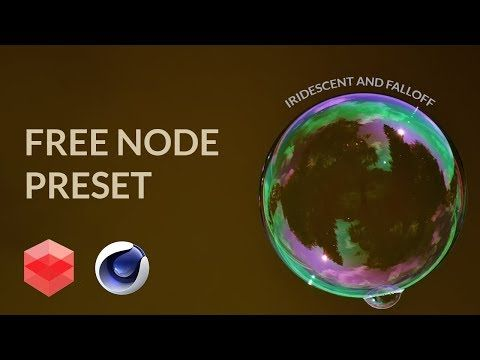Redshift-c4d free Node preset download[CINEMA 4D TUTORIAL