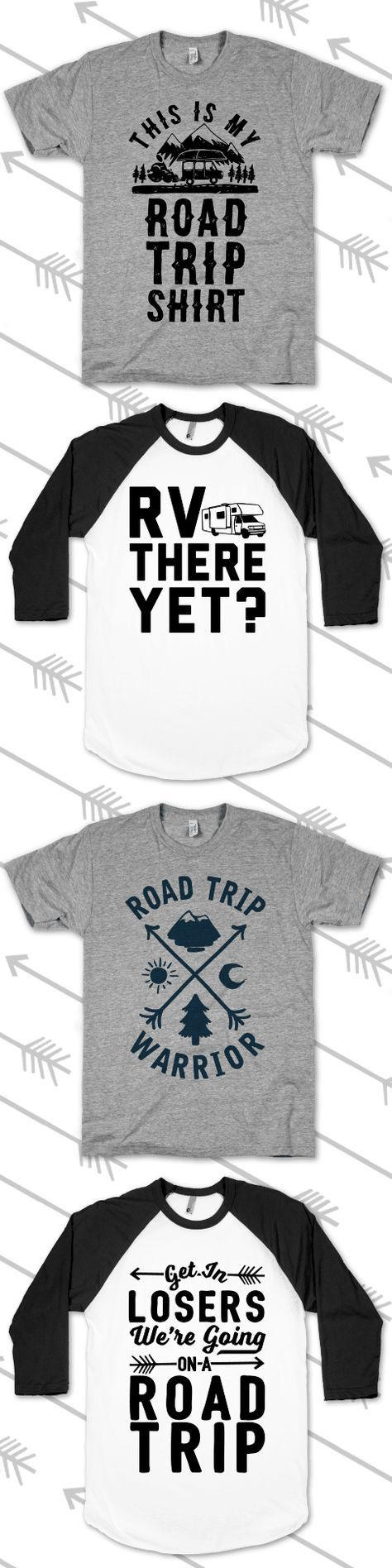 Make time for a road trip to drive off that winter wanderlust. Grab these shirts, pack the car, and head off on a holiday trip!