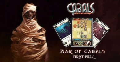 War of Cabals: Diamond Duels WEEK 2 News | Cabals: Magic & Battle Cards