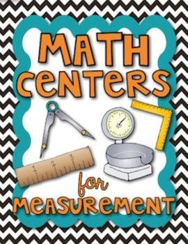 Here's a set of six measurement centers. Includes metric units, measuring angles, measuring liters, measuring mass, measuring to 1/8th of an inch, and meeting with the teacher.