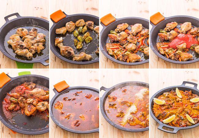 17 mejores ideas sobre paella de pollo en pinterest for Como cocinar paella