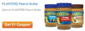 Head on over here to print a high value $1/1 any Planters Peanut Butter coupon! You can often find this peanut butter priced on sale for around $2, so only a buck after the coupon. While you are there, you may also want to print the Crystal Light and Kraft cheese coupons! (Thanks, Freebie Shark!)