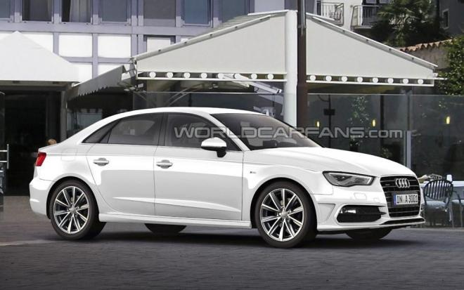 Audi A3 sedan rendered & speculated http://giornalemotori.it/70380/audi-a3-nasce-la-sedan/