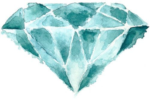Don't buy me a diamond, paint me one!