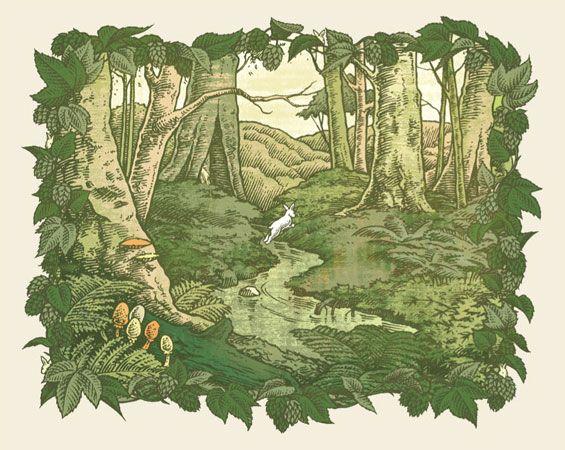 White Rabbit, Charles Vess