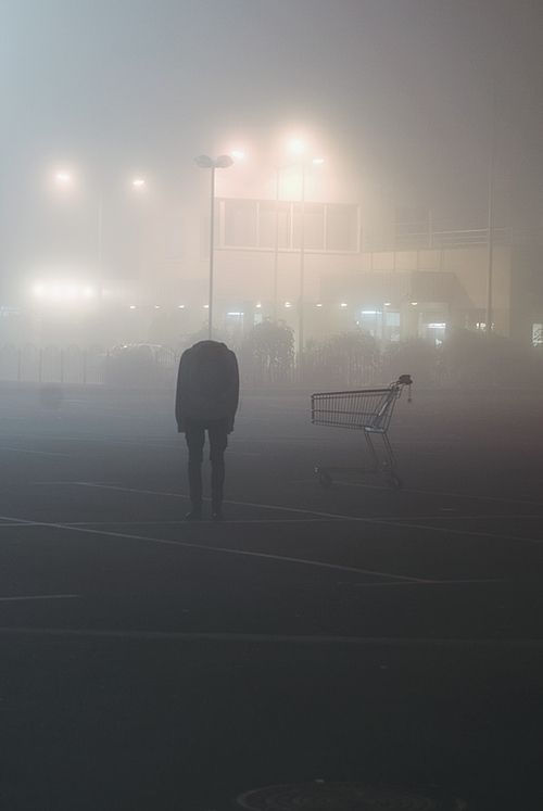 I rubbed my eyes, not believing what I just saw. And surprisingly, it worked. All that was there was a shopping cart. But why did I feel deep down that the headless person was there?