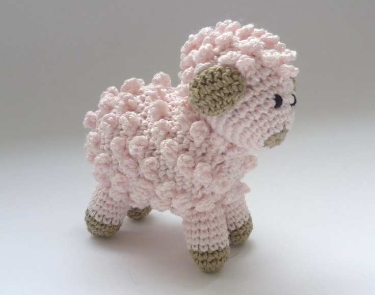 Mario Amigurumi Free Pattern : Little Pink Sheep / Lamb For My Love Of Sheep ...