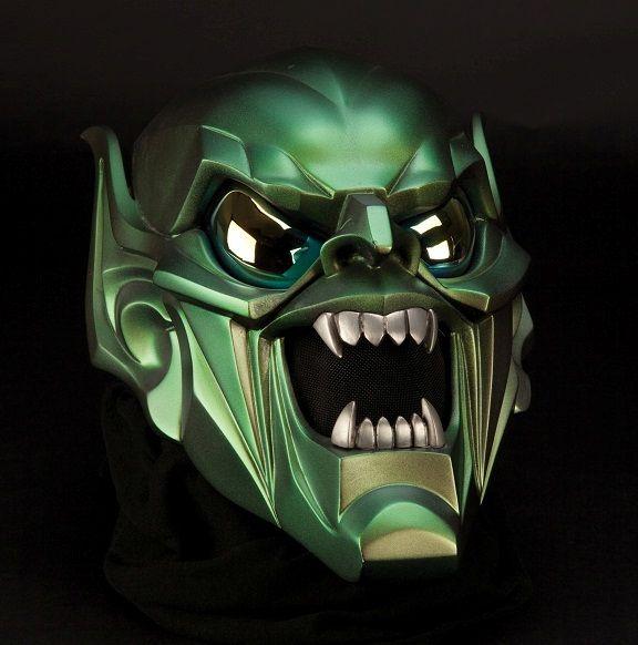 Green Goblin mask. Spiderman. #Mask