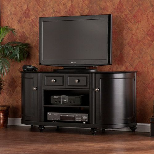 Luisa Black Media Console for TVs up to 50""