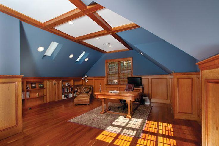 34 best garage office workshop images on pinterest for Garage home office