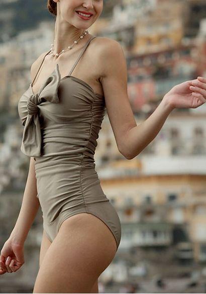 classy swimsuit
