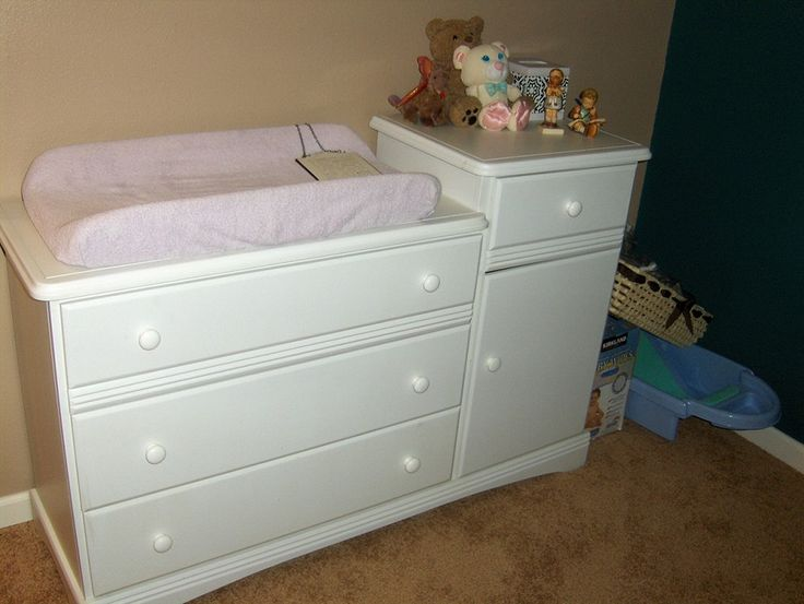 Charming Baby Changing Table Dresser Combo