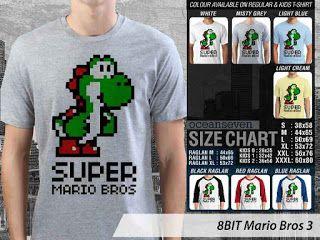 OMAH STORE: 8 BIT Mario Bros 3