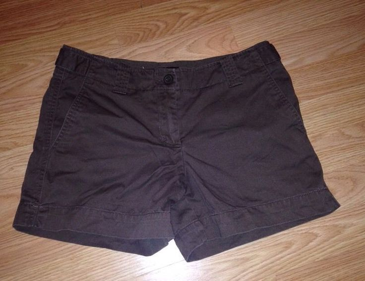 New York And Company Womens Brown Shorts Size 4 Four Preowned Fall USA shipping #NewYorkAndCompany #CasualShorts