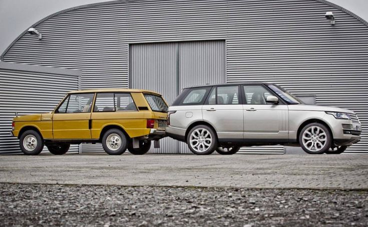Range Rovers Classic and current