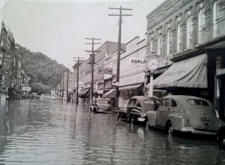 Flood In Weston W V In 1950 B Wv History Pinterest