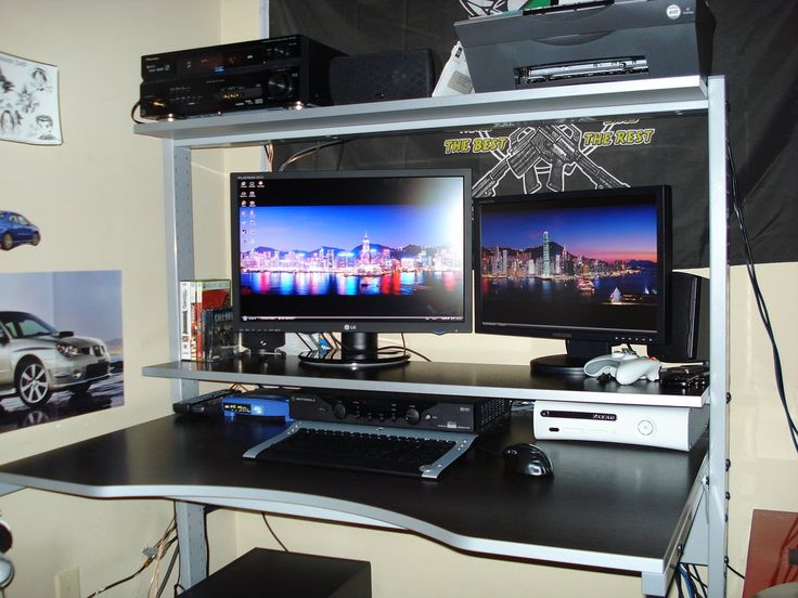 Best Desks endearing 25+ simple gaming computer desk decorating design of