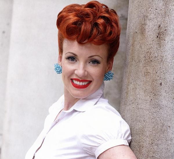 31 Best 50s Hairstyles Images On Pinterest
