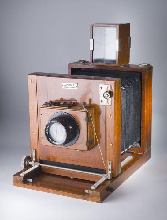 Gandolfi Prison Extending Bellows Camera C 1940