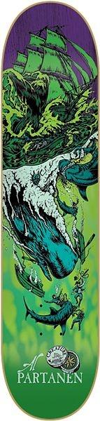 #Skateboard Creature - Al Partenen Cove Signature Deck
