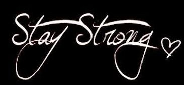 Stay Strong Tattoo-have placed on wrist