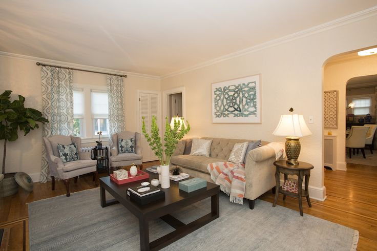 Beth & Christopher's LIVING ROOM REVEAL | Buying & Selling
