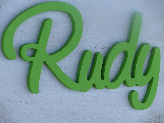 Cool T rschild Schriftzug Namensschild Kinderzimmer