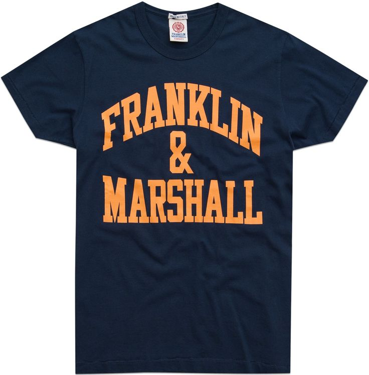 Men's jersey round neck T-shirt
