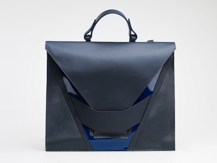 Muted Blues Satchel