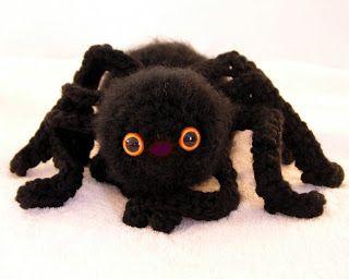 Enami Eyes: Spooky Spider  Plush Amigurumi