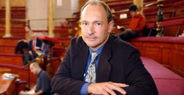 Sir Tim Berners-Lee, inventor of the World Wide Web, founder of the World Wide Web Foundation and World Wide Web Consortium. #web25