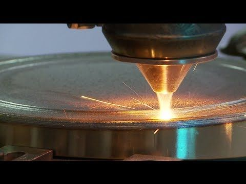 Lasercarb : Laser cladding / rechargement laser by Technogenia - YouTube