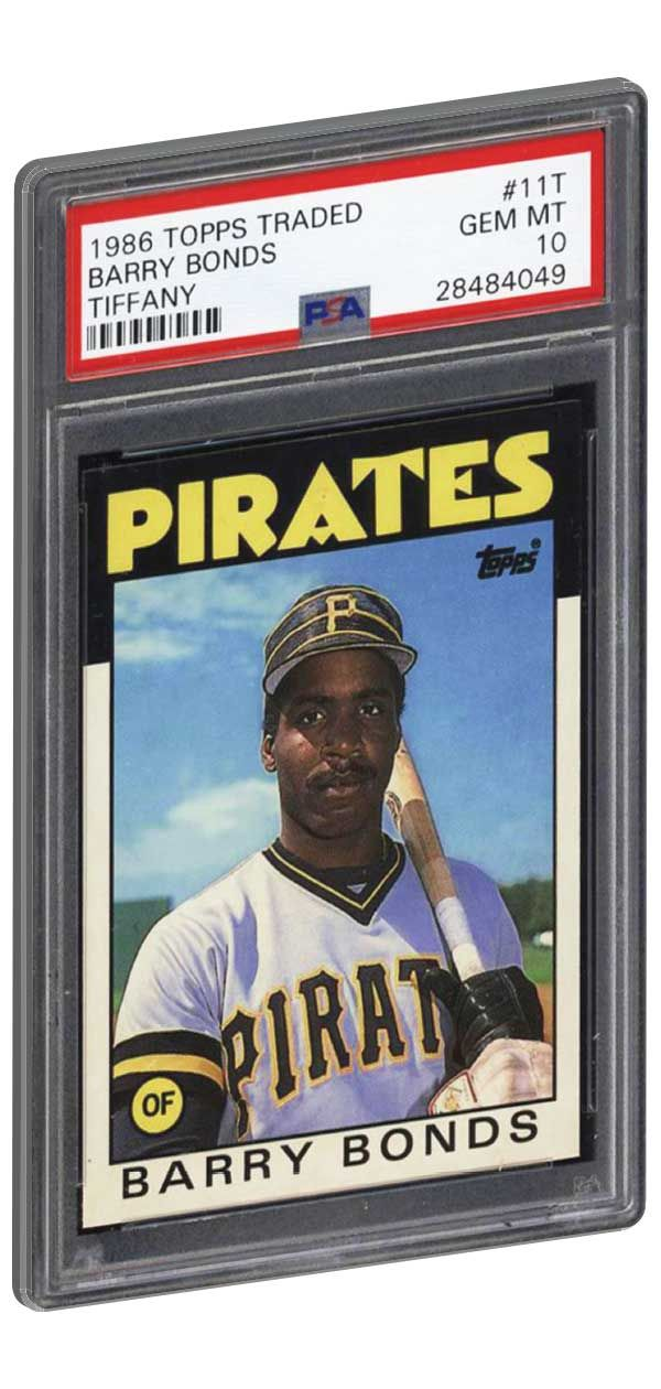 One Of Barry Bonds Most Expensive And Sought After Rookies His