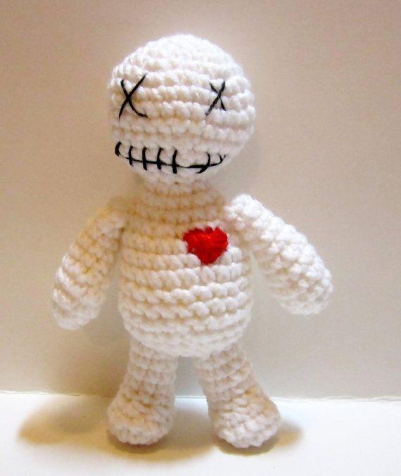 Crochet Voodoo Doll Crochet Poppet Doll Amigurumi by MadebyJody666