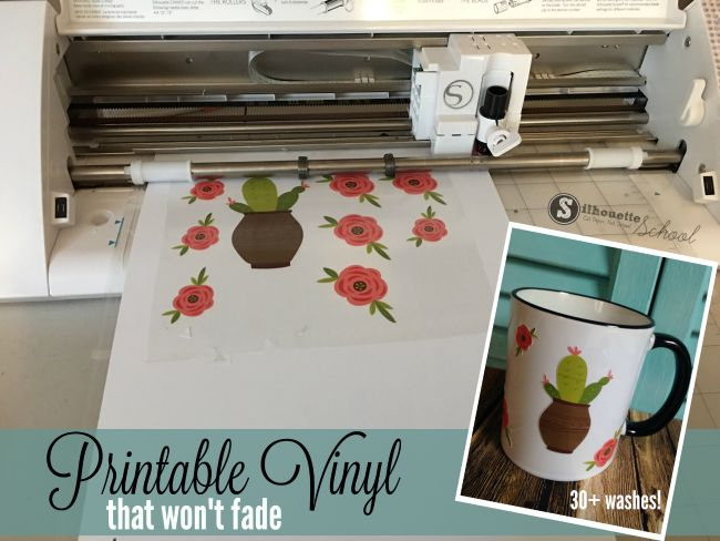 The Best Printable Vinyl Yet for Silhouette Print and Cut (Tutorial and Review)
