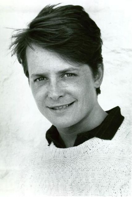 Michael J Fox...my very first crush, EVER. Loved Alex Keaton. Funniest guy on tv. And a republican!