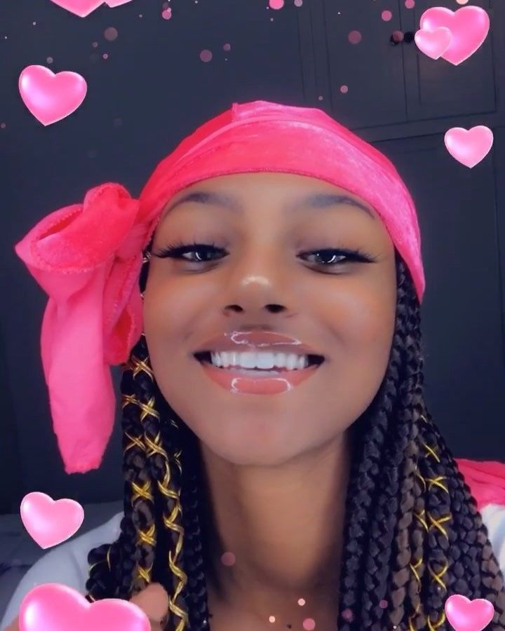 Pin By Ceniyah On Durags Curly Hair Baby Cute Box Braids Scarf Hairstyles